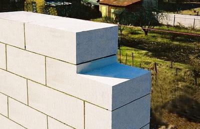 Стена из газобетона, которую нужно утеплять