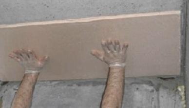Для установки утеплителя в подвале его нужно приклеивать всей площадью