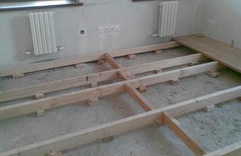Для утепления деревянных полов на лагах можно использовать керамзит