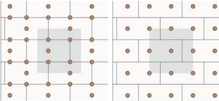 схемы установки дюбелей на утеплителе