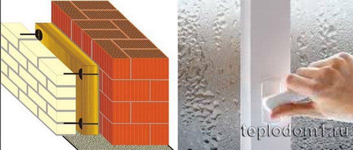 Паропроницаемость стен и материалов