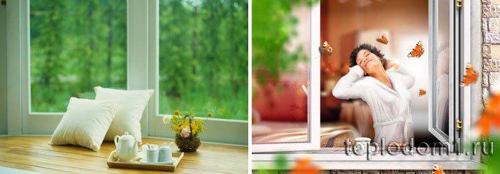 Хорошие утепленные окна - прекрасное настроение