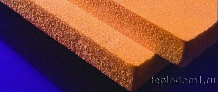 Экструдированный пенополистирол - утеплитель для стен изнутри