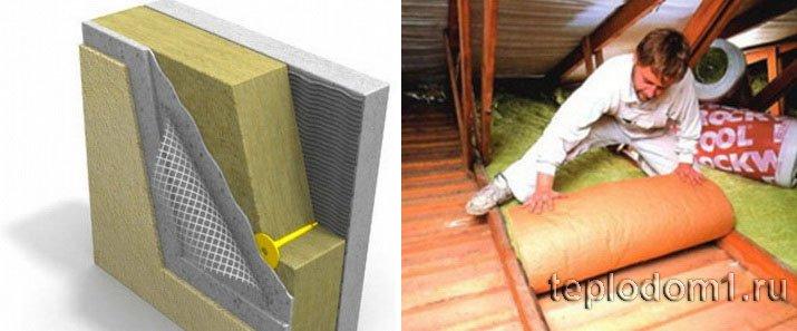 Для утепления частного дома лучше использовать современные материалы