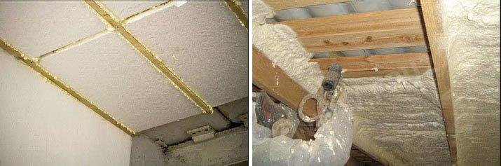Утепление полов изнутри под бетоном и деревяянным настилом