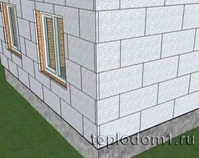 Теплоизоляция домов с помощью пенопласта