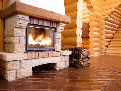 Теплоемкие предметы в деревянном доме