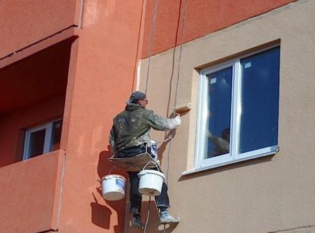 Теплоизоляция квартиры выполняется снаружи - основная технология - обклейка пенопластом