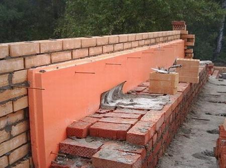 Колодцевая кладка при утеплении стены - популярный вариант строительства дома