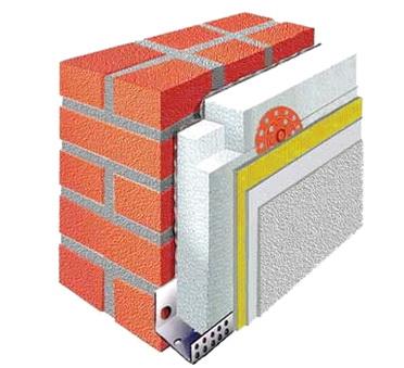 На стене применяются материалы с определенной паропрозрачностью