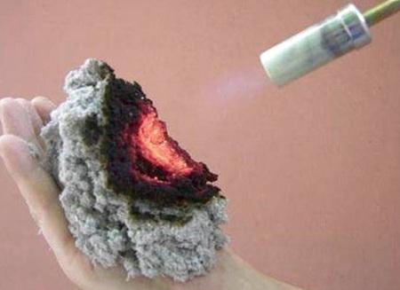 Эковата слабогорючий материал с теплоизолирующими свойствами