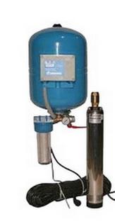 Насос и аккумулятор помогут против замерзания воды