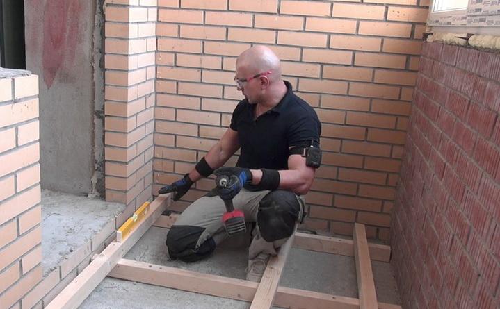 Балкон своими руками инструкция Страж-Инвест