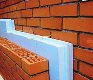 Утепление трехслойной стены ЭППС