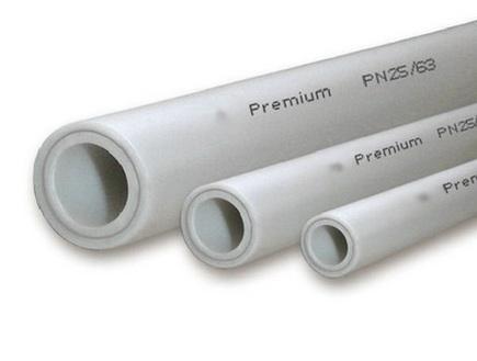 Трубопроводы из полипропилена различного диаметра