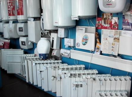 Радиаторы в магазине различной мощности