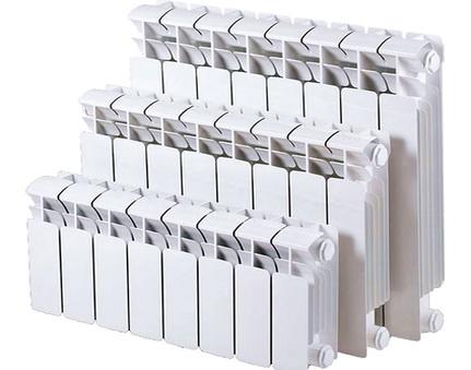 Радиаторы отопления различной мощности в продаже