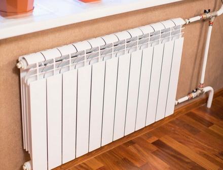 Радиатор необходимой мощности согласно расчету
