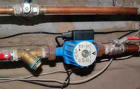 Циркуляционный насос в системе отопления - как устанавливается