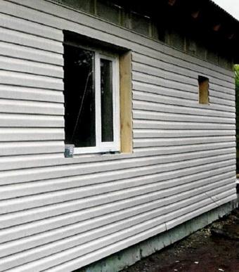 Дому утепленный по схеме вентилируемый фасад
