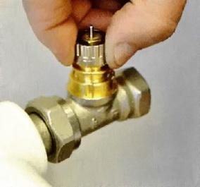 Регулировочное устройство термодатчика