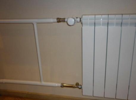 Установка терморегулятора в действующую систему
