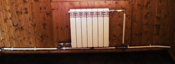 Как устанавливается радиатор в систему отопления