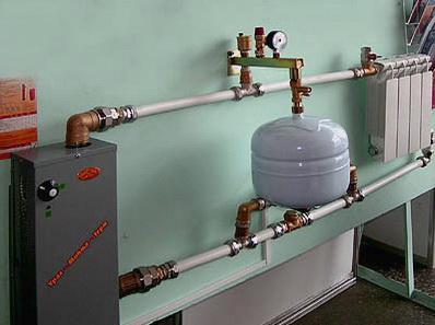 Наглядная сборка схемы отопления в доме