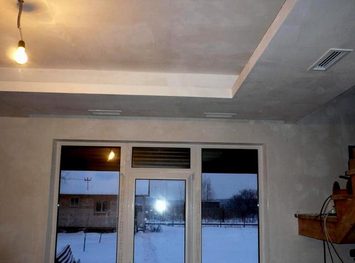 Воздуховоды в помещениях маскируются в интерьере