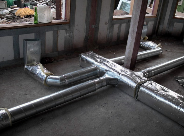 Воздуховоды нужно теплоизолировать