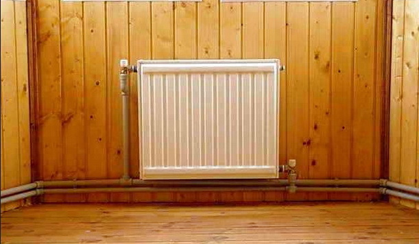 Правильно установленный радиатор отопления