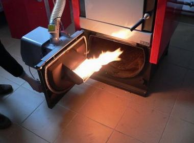 Новая горелка для жидкого топлива
