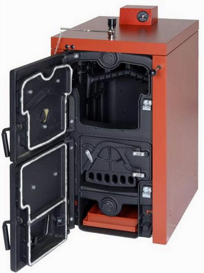 Мощный теплогенератор с чугунным теплообменником