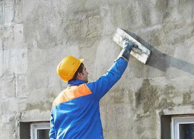 Штукатурный слой обеспечивает защиту пенопласта