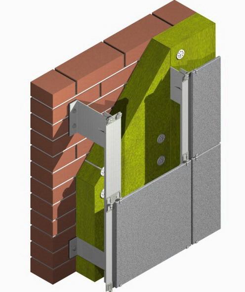 Схема фасада - как делается