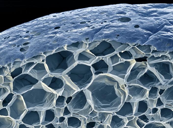 Пенопласт - вспененная пластмасса наполненная воздухом