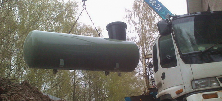 Как устанавливают хранилище для газа