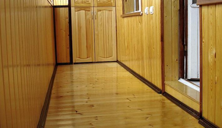 Отличный пол  в деревянном доме