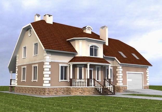 Красивый дом нужно теплоизолировать изнутри