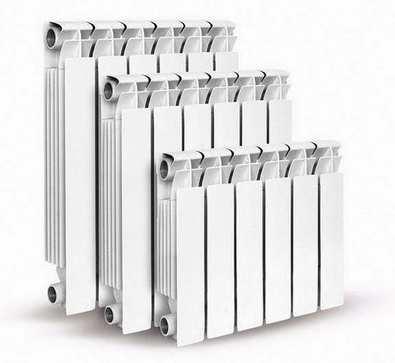 Как выглядят алюминиевый радиатор