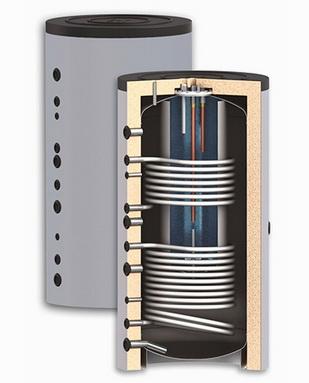 Различные конструкции буферной емкости, теплоаккумулятора