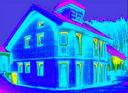 Обследование здания с применением новых технических средств