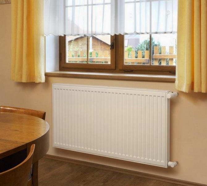 Радиатор под окном - правильный нагрев помещения