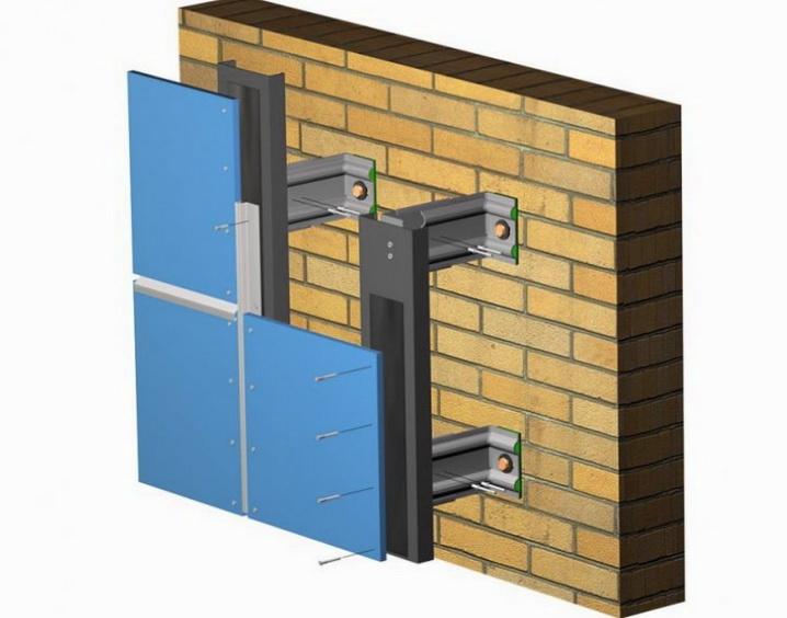 Как делается система вентилируемого фасада