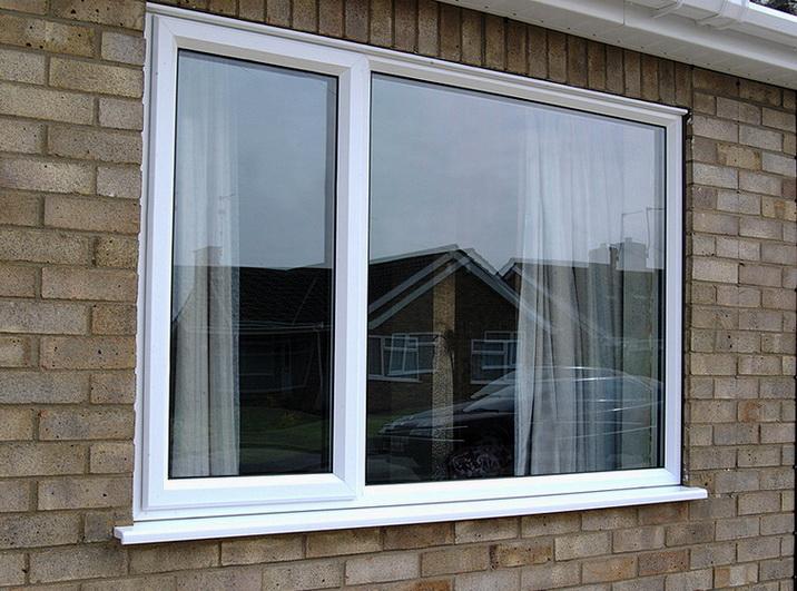 Окно установленное в доме