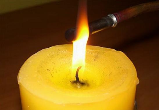 Ремонт термопары на огне