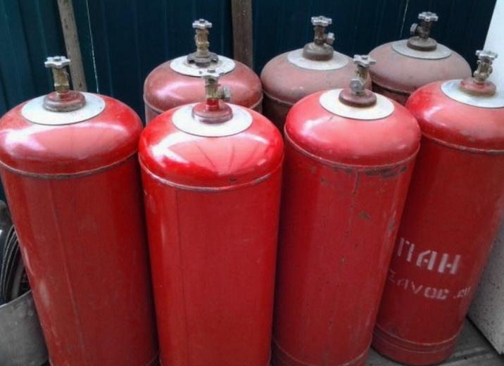 Балоны для газа - сложная трудоемкая доставка