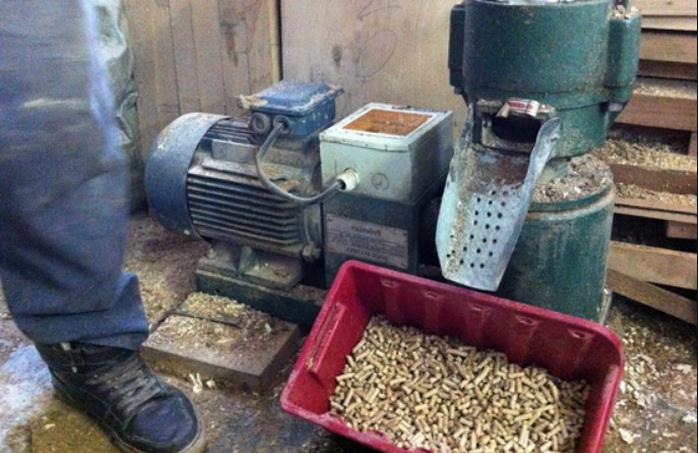 Установка для производства пеллет