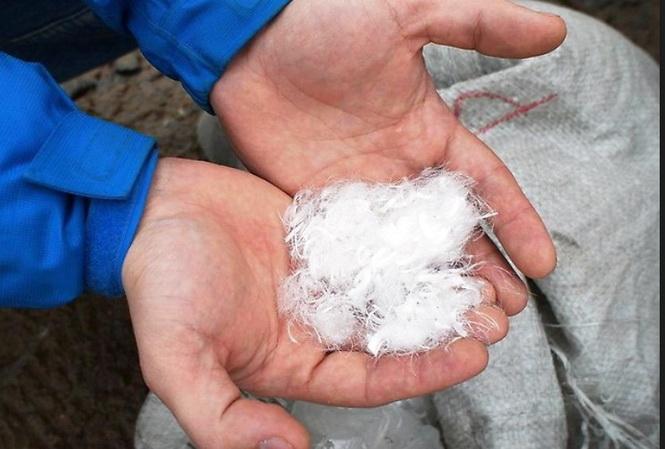 фиброволокно используется для укрепления стяжки