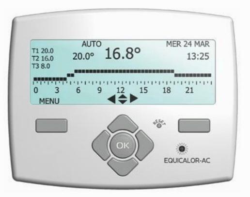Хронотермостат - программируемое устройство